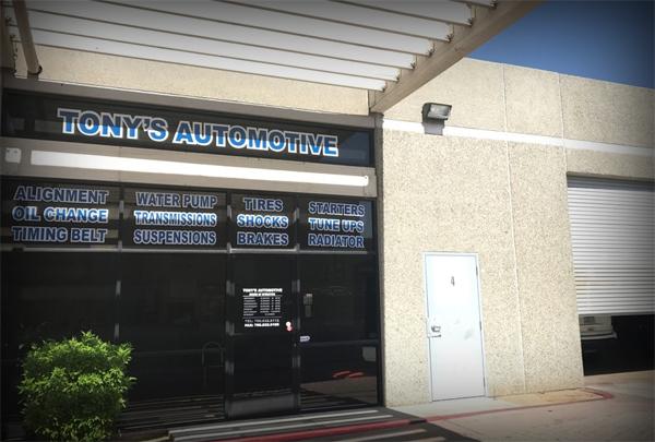 Tony's Automotive