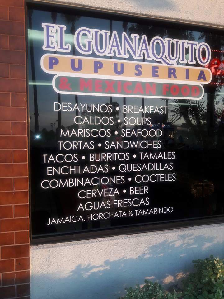 El Guanaquito Pupuseria & Mexican Food